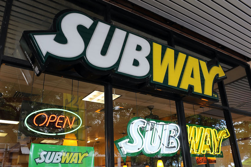 A subway store in Miami. (Photo credit: Getty Images).