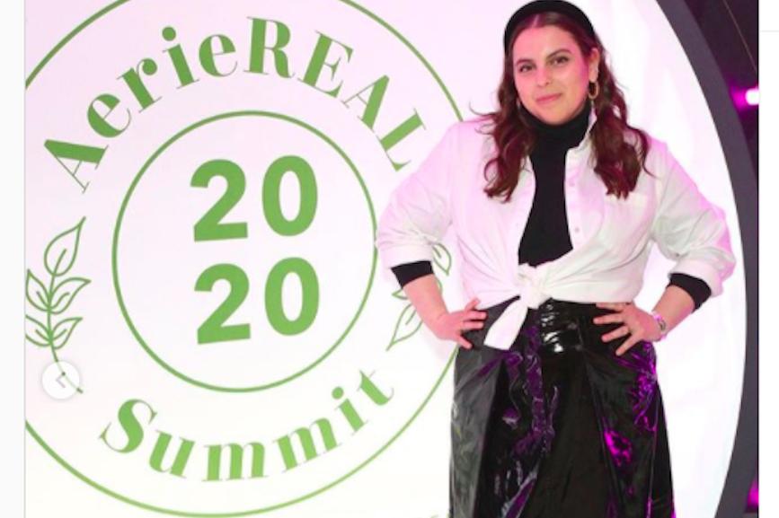Actress Beanie Feldstein attends the summit. (Image via Feldstein's Instagram page)