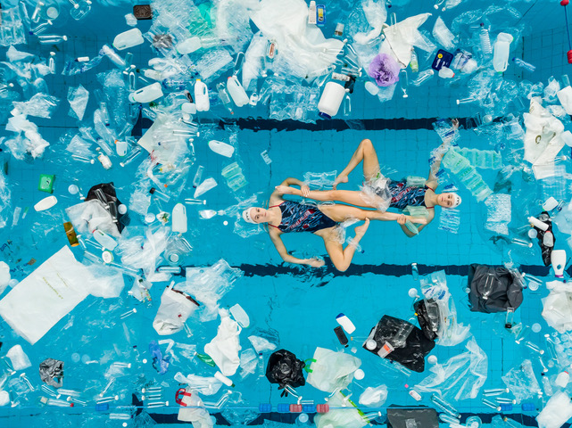 'It took about six months to collect enough plastic' - Behind the Campaign with 'Swimming In It' by Cow