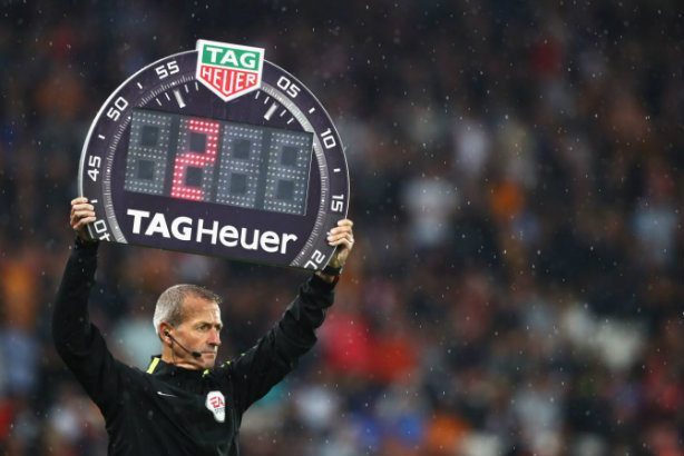 TAG Heuer is now the official timekeeper of the Premier League