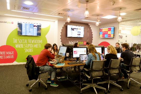 Social expertise: A 'social newsroom' will form part of the service