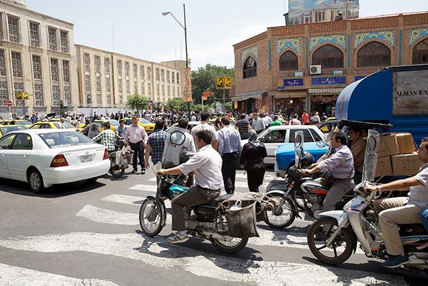 Iran's capital city, Tehran: open for Western business (Credit: Ajber)