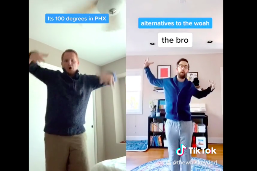 OH Partners' Jason Miller shows off his dance moves on TikTok.
