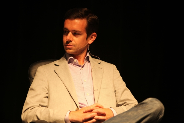 Twitter's Jack Dorsey in 2009. Image via Brian Solis / Wikimedia Commons; used under the Creative Commons Attribution 2.0 Generic license. Resized from original.