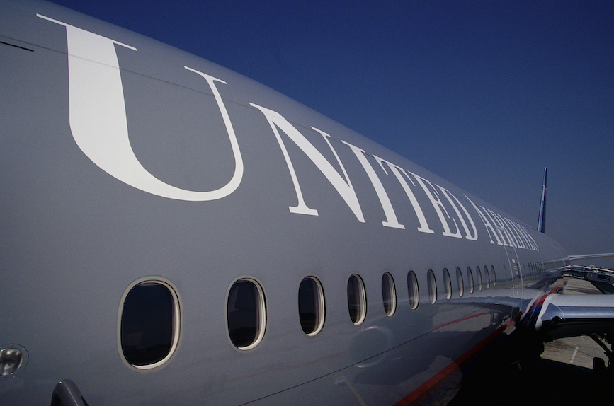 Carrier United Airlines is getting social media pushback on its pilot diversity plan. (Photo credit: Getty Images).
