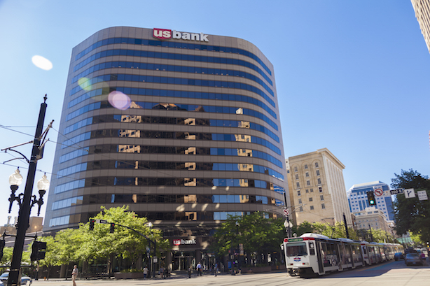 The US Bank Building in Salt Lake City