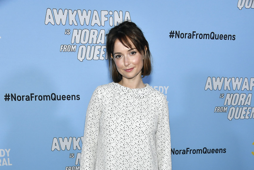 Actress Milana Vayntrub says she is getting so many harassing messages and comments on social media, she cannot individually report them all. (Photo credit: Getty Images)