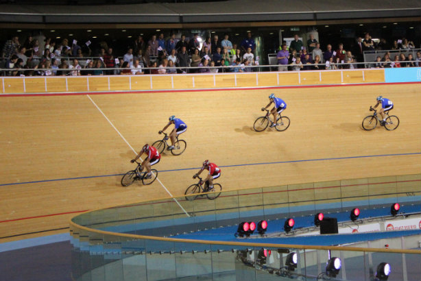 LeeValley VeloPark: A Sport Relief event at the velodrome last year (Credit: Peter Burgess via Flickr)