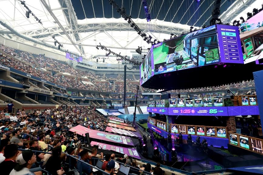 Fortnite World Cup Finals on July 28, 2019 in New York City. (Photo by Mike Stobe/Getty Images)