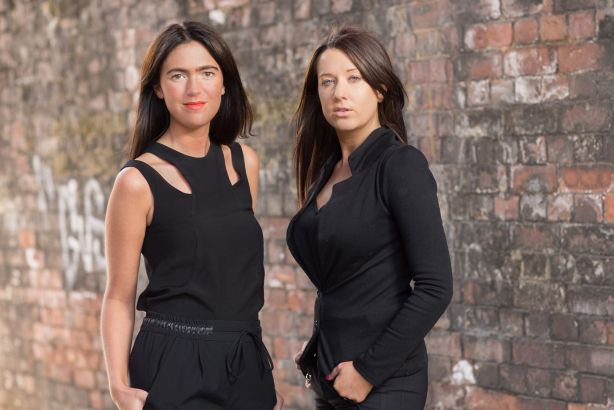 Weber Shandwick Manchester: Anna Varley Jones (l) and Heather Blundell