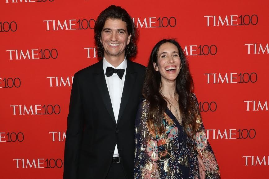 Adam Neumann and Rebekah Paltrow Neumann (Photo credit: Getty Images)