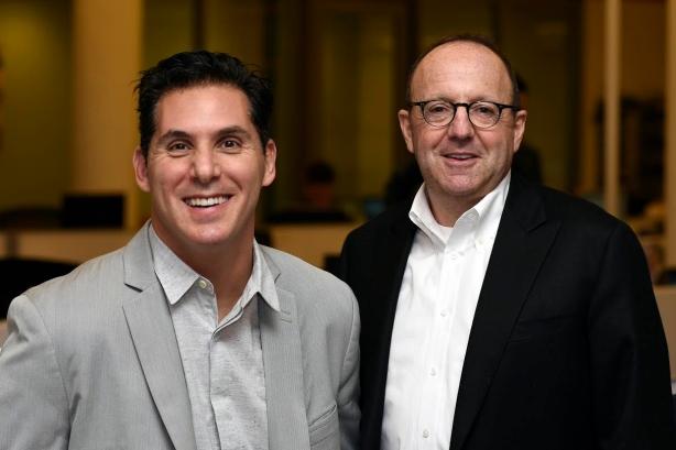 Bret Werner (L) and Michael Kempner