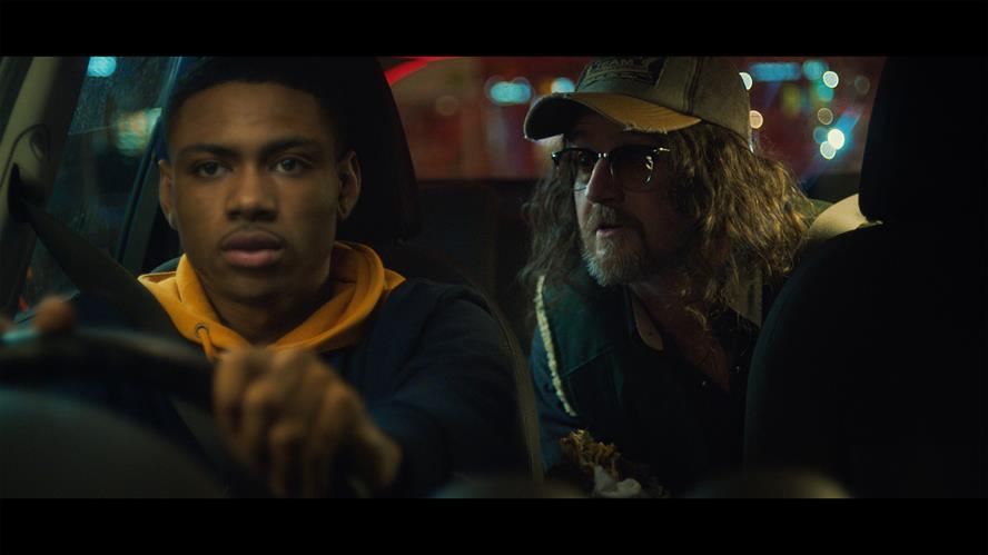 A still from Night Driving, one of the films in which The Whisperer advises young drivers