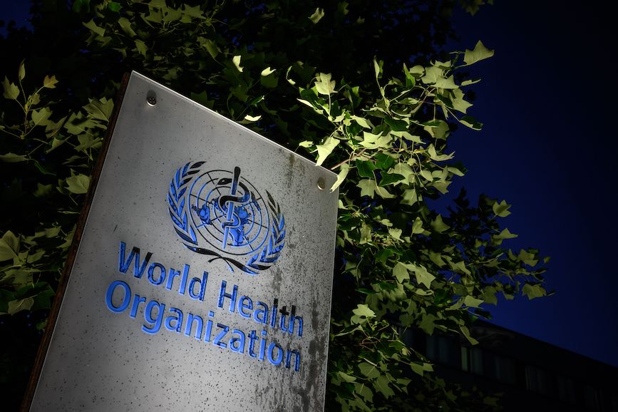 WHO headquarters in Geneva. (Photo credit: Getty Images).