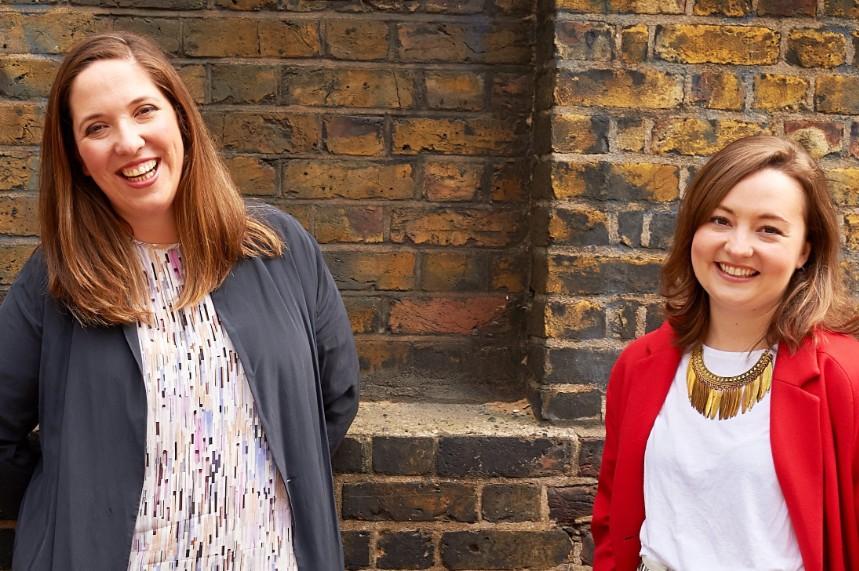 Agency leaders: Kathleen Alder (left) and Olivia Brown