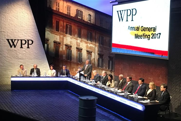 WPP: held AGM today