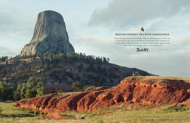 From Wyoming Tourism's That's WY campaign