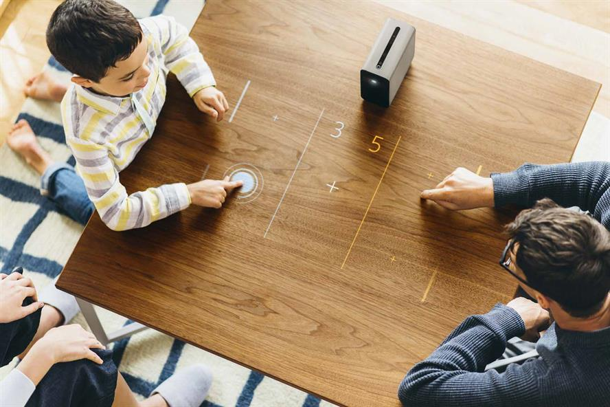 Sony Mobile calls in Fever to launch its Xperia Touch IoT projector