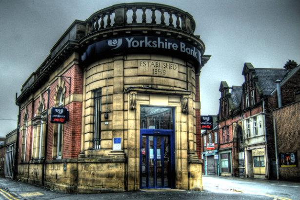 A Yorkshire Bank branch (Credit: David Locke via Flickr)