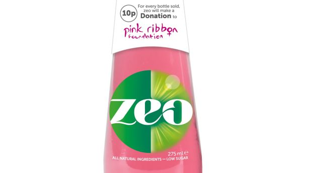 Zeo: Brand launches pink drink for Breast Cancer Awareness Month campaign