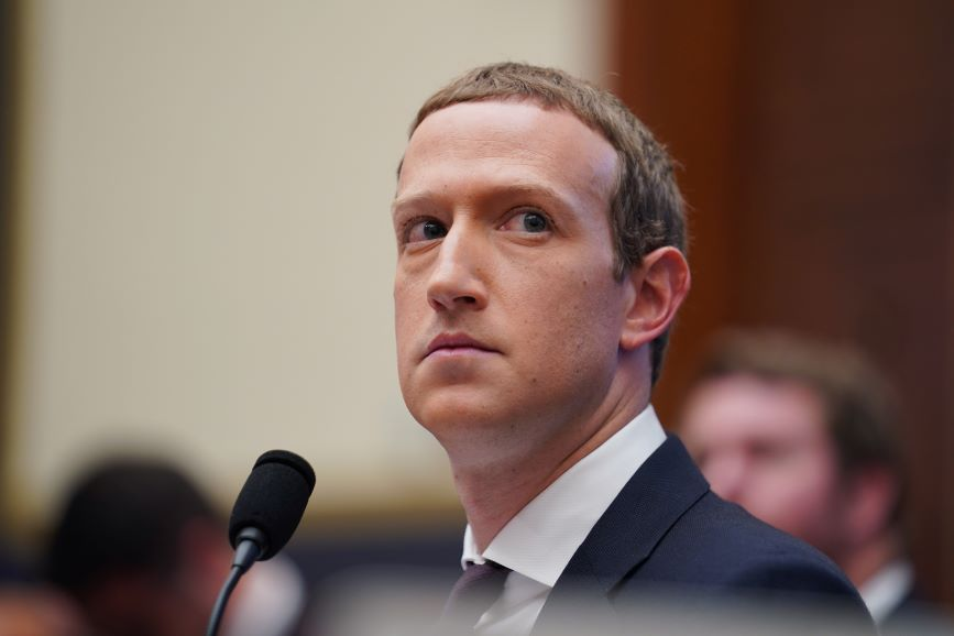 Mark Zuckerberg appeared awkward and unprepared in his latest appearance before Congress. (Pic: Getty Images).