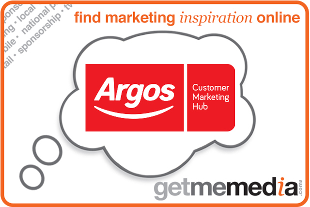 marketing argos Argos is attempting to shake off its dated reputation for laminated catalogues and mini pens with a multimillion advertising campaign trumpeting its new digital strategy.