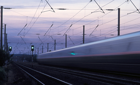High-speed rail: Scottish government has vowed to fund new line north of border. Network Rail photo