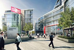 Twickenham: plans include 115 homes