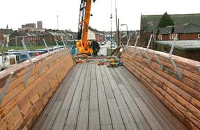 Pennington footbridge
