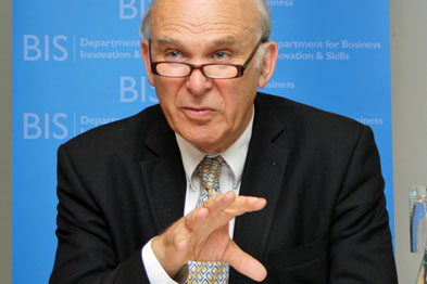 Vince Cable's recent comments have been called 'curious' by the president of the RTPI.