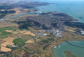 Thames Estuary: airport plan revived