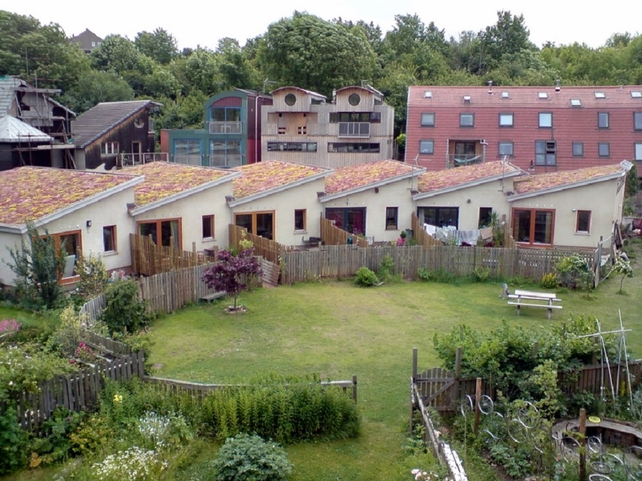 The Ashley Vale self-build scheme in Bristol. PIc: National Custom and Self Build Association