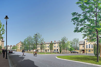 Savills acted as lead planning consultant on the Coed Darcy scheme in Wales