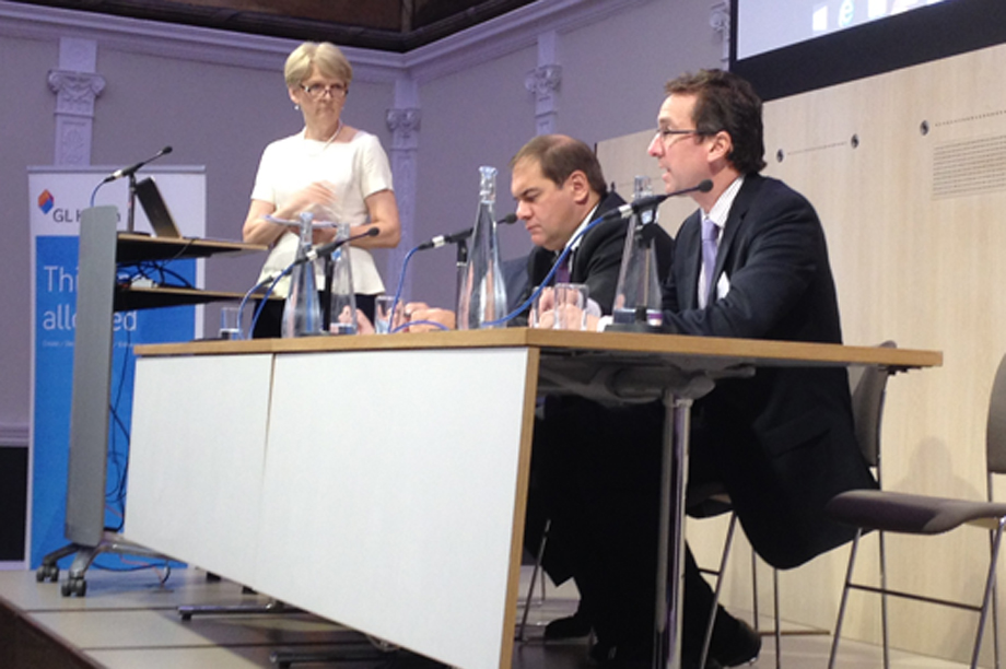 BPF chief executive Liz Peace (left) at the launch of the planning survey