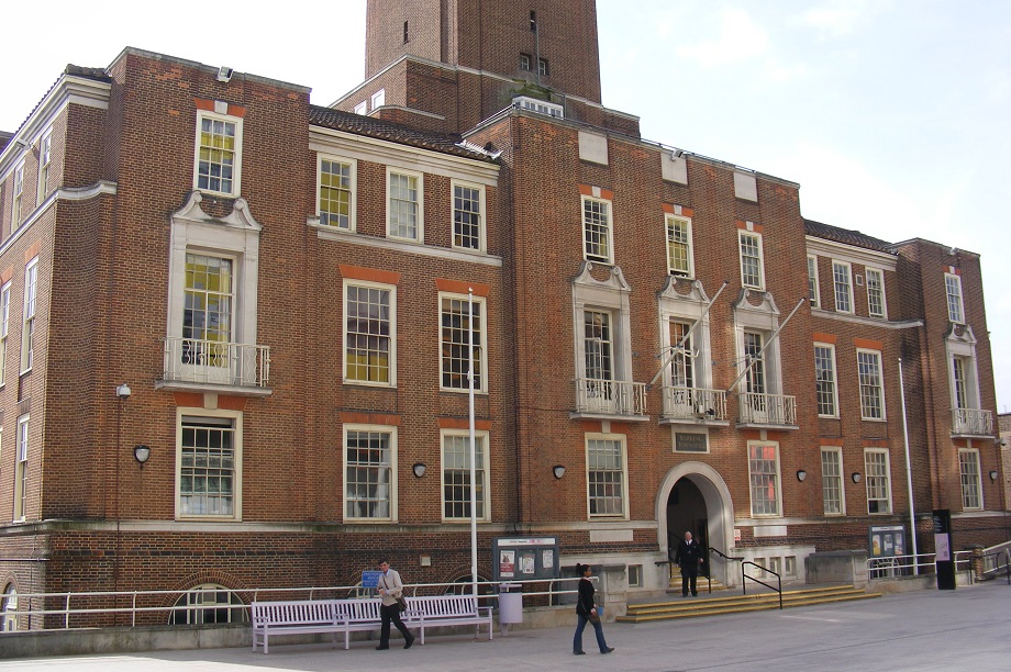 The London Borough of Barking and Dagenham offices. Pic: Adrian Cable / Barking Town Hall / CC BY-SA 2.0