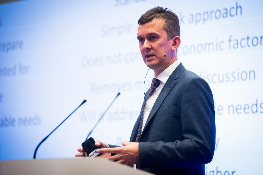 Ben Frodsham, associate director at Indigo Planning, at the Planning for Housing conference