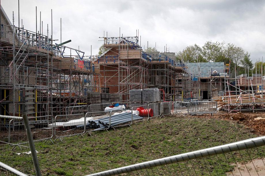 New homes: LGA warns over affordable housing threshold cut (pic: Getty)