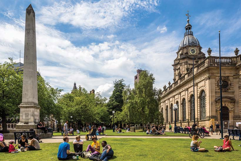 Cathedral Square, St Philip's Cathedral, Birmingham