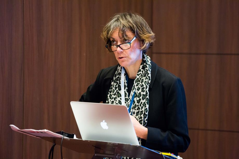 Heather Cheesbrough, Croydon, speaking at the Planning for Housing conference yesterday