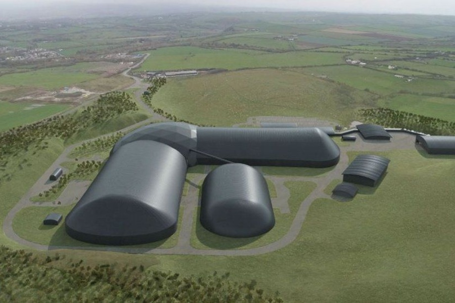 A visualisation of the proposed Woodhouse Colliery - image: West Cumbria Mining