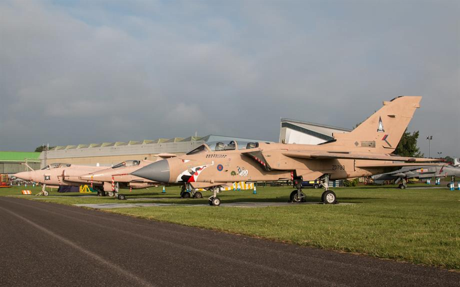 Shropshire Council has proposed the release of 220 hectares of green belt land at RAF Cosford. Image: Flickr / Steve Lynes