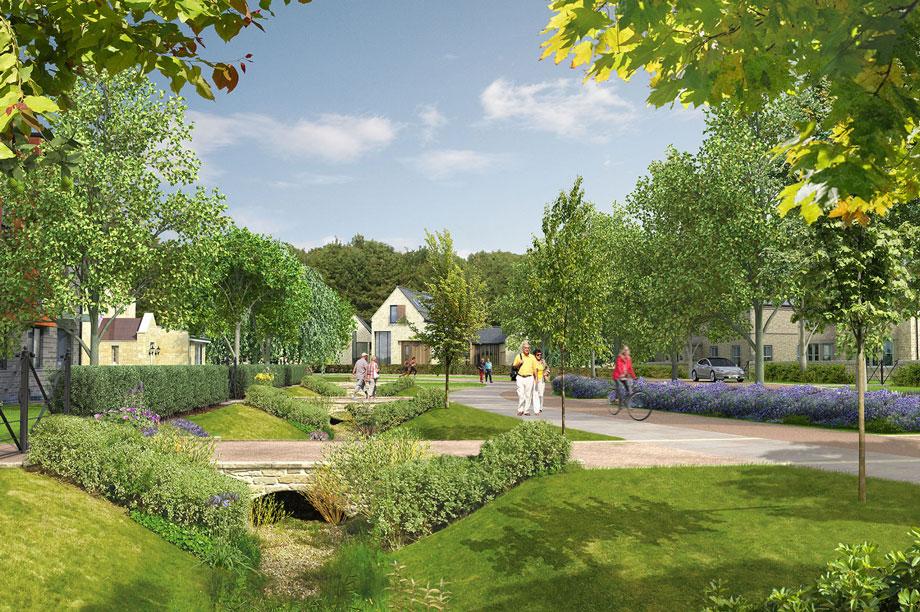 Dissington Garden Village: application withdrawn