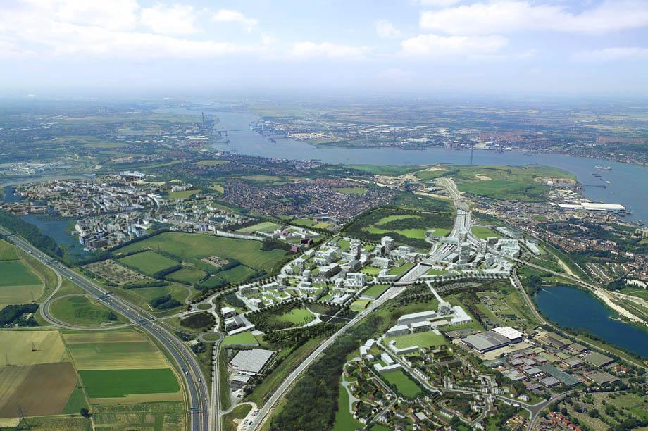 Ebbsfleet: development corporation will be set up to drive forward garden city
