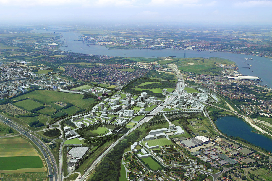 Ebbsfleet: garden city plans to be delivered by a UDC