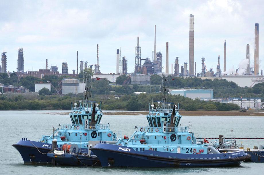 Esso's Fawley Refinery near Southampton (pic: Roger Marks via Flickr)