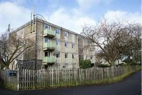 The Foxhill estate in Bath (pic: Curo)