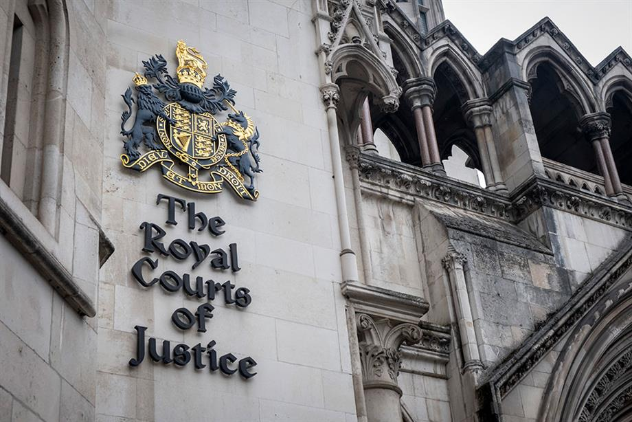 The Royal Courts of Justice. Photograph: Andrew Aitchison/Getty Images