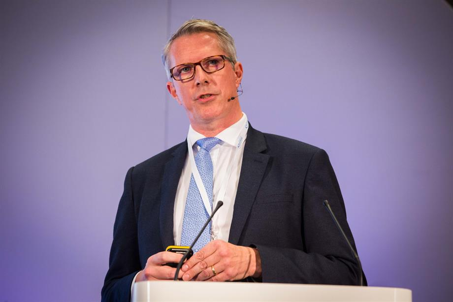 Ian Gilbey speaking at the Planning for Housing conference yesterday