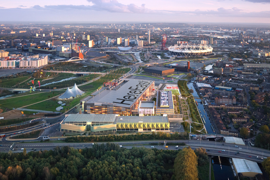 Here East: artist's visualisation of the scheme