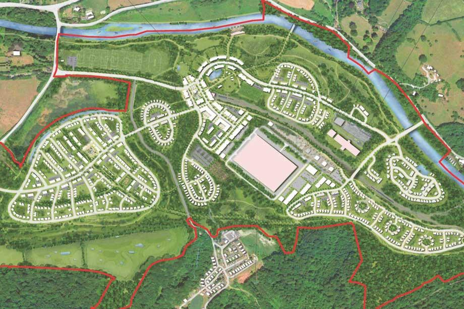 A masterplan visualisation of the scheme (pic: Pegasus Group)